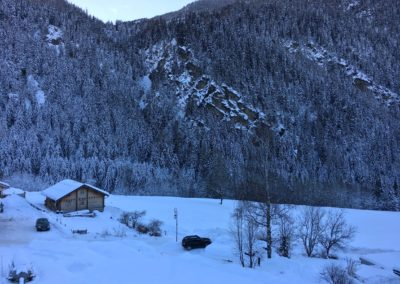 View From Chalet & Apartment