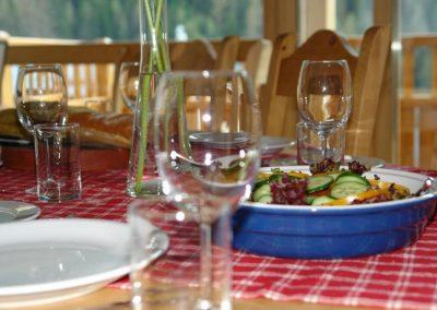 Dinner In The Chalet