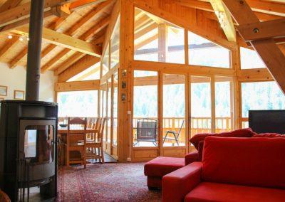 Chalet Large Living Area Towards Balcony